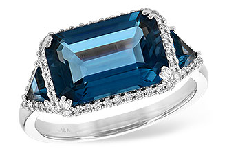 G236-29497: LDS RG 4.60 TW LONDON BLUE TOPAZ 4.82 TGW