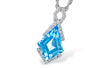 K319-02188: NECK 2.40 BLUE TOPAZ 2.53 TGW